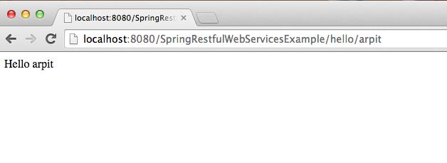 Spring Restful web services example - Java2Blog