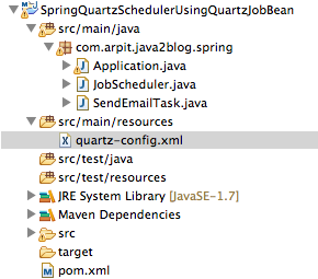 Spring Quartz Scheduler Example - Java2Blog