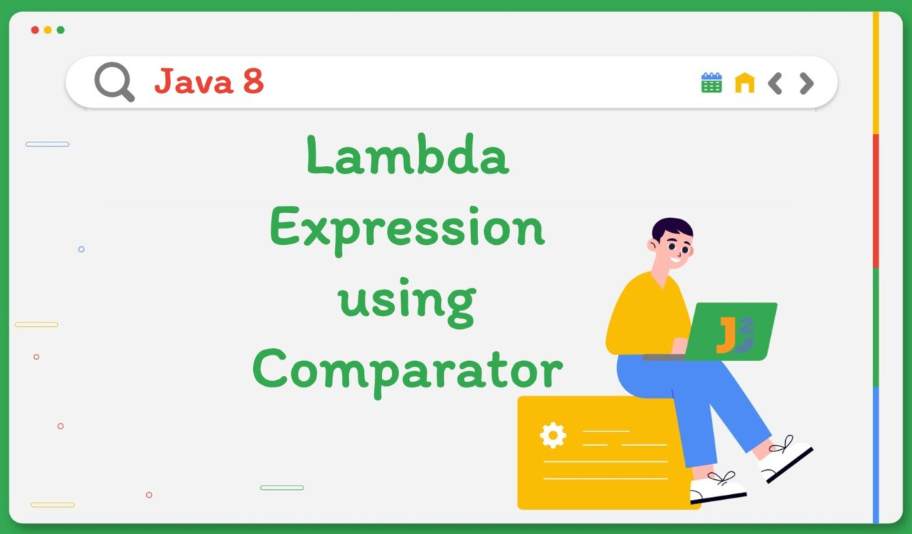 Java 8 Lambda Expression using Comparator
