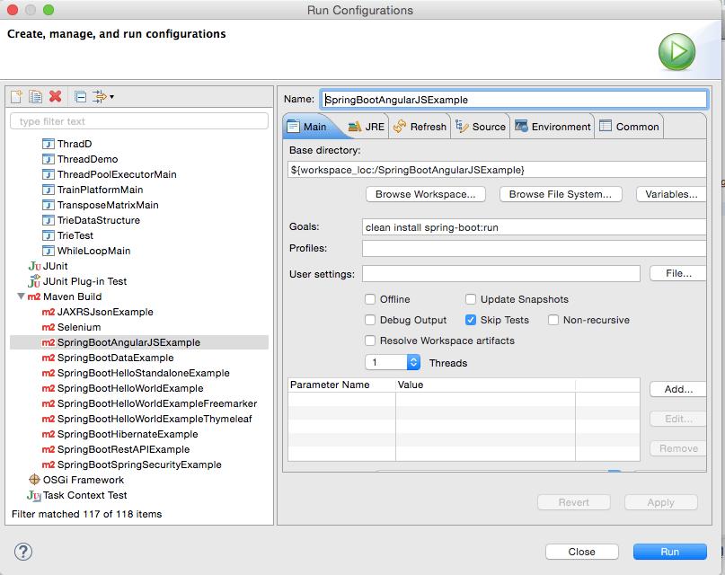 Spring Boot AngularJS Maven Build