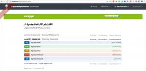 Jhispter API