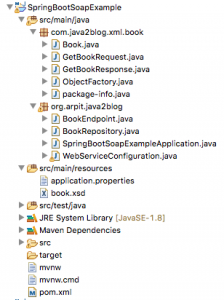 Spring boot SOAP example