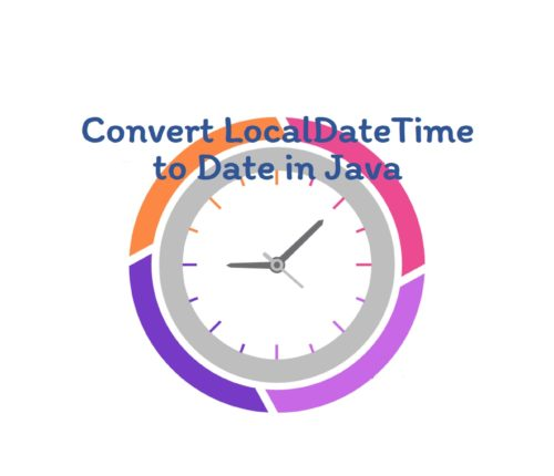 Convert LocalDateTime to Date in Java