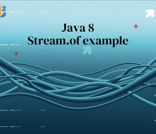 Java 8 Stream.of example