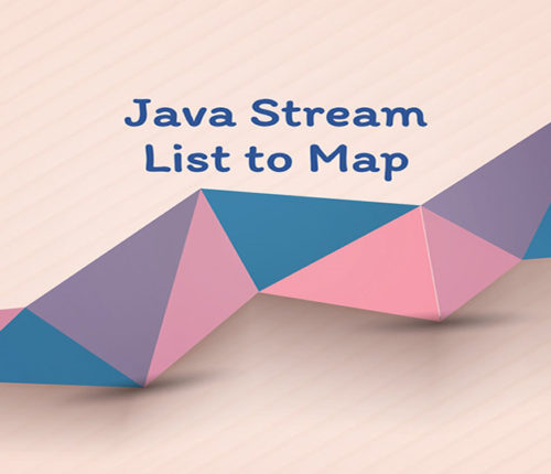 Java Stream List to Map
