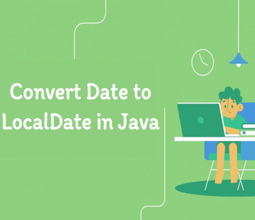 Convert Date to LocalDate in java