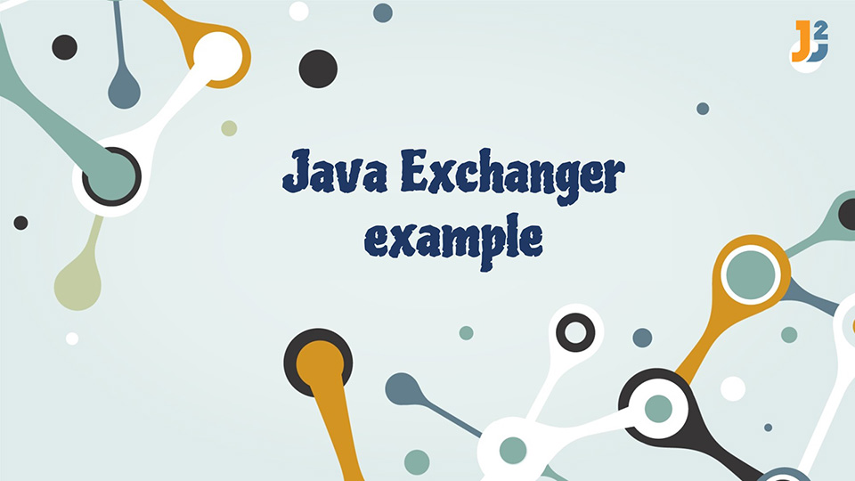Java Exchanger example