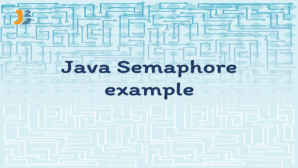 Java Semaphore example