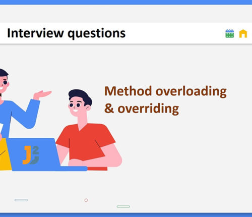 Method overloading and overriding interview questions