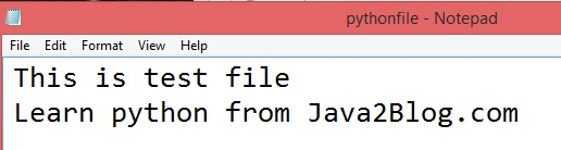 Write to file in Python