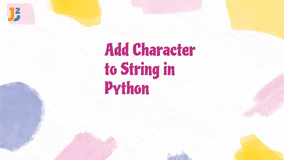Add character to String in Python