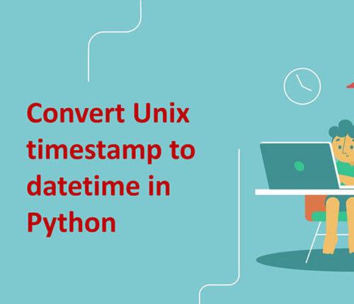 Convert unix timestamp to datetime in Python