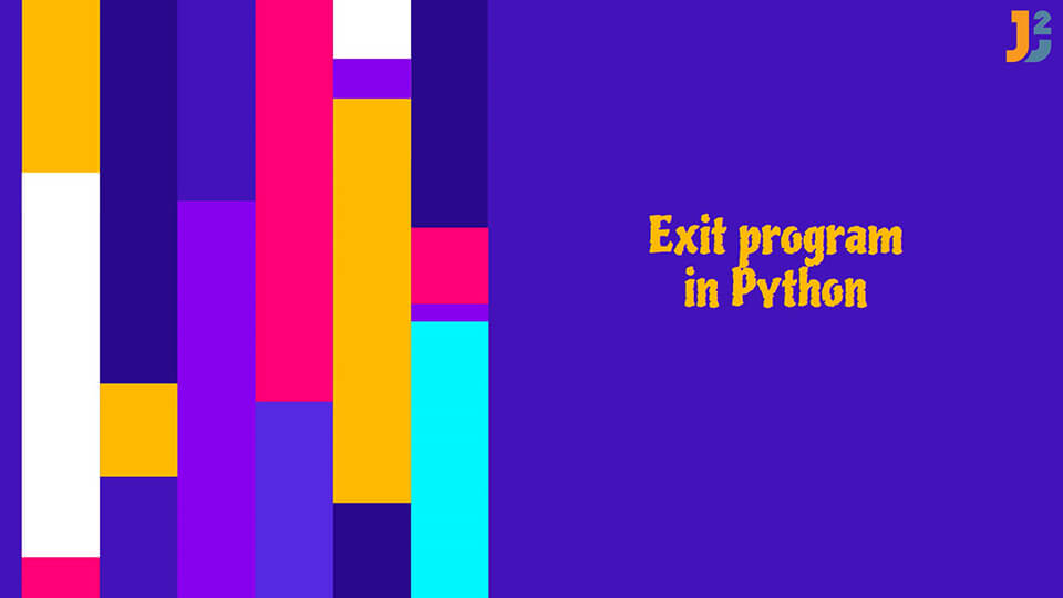 Exit Python program