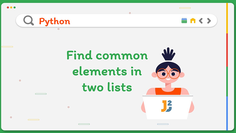 Find common elements in two lists Python