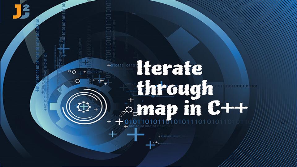 Iterate through map in C++