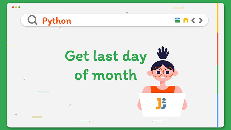 Last day of month in Python