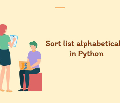 Sort list alphabetically in Python