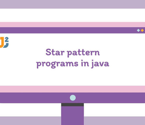 Star pattern in java