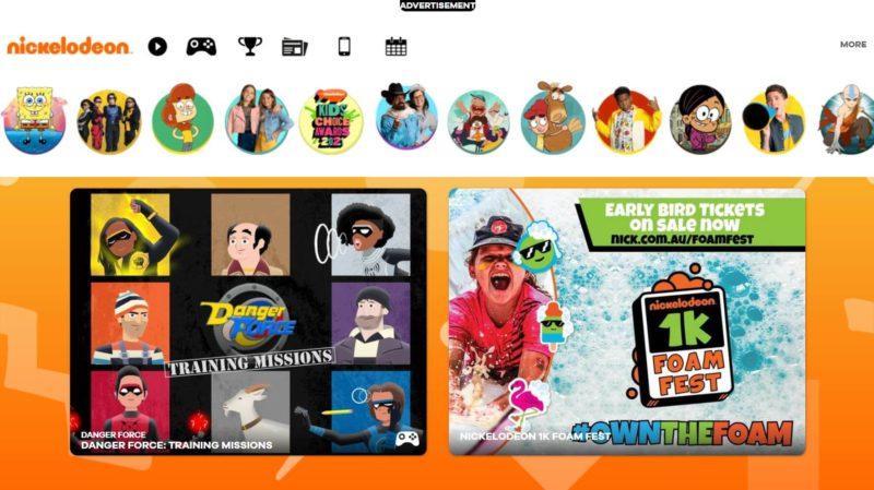 Nickelodeon - KissCartoon alternatives