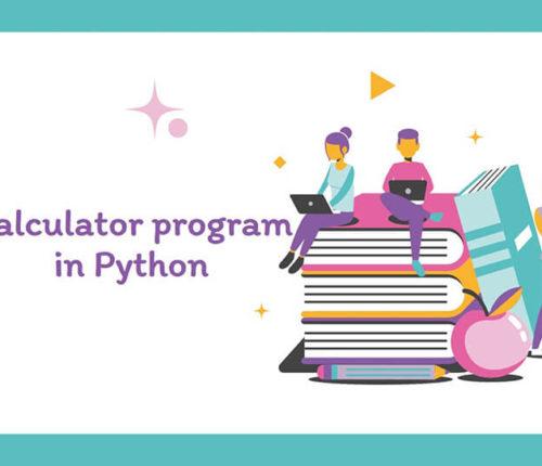 Calculator program in Python