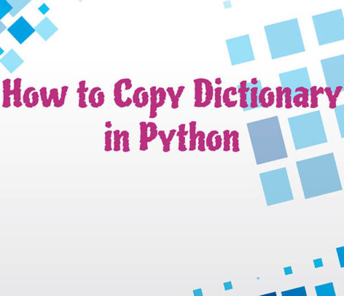 Copy a dictionary in Python