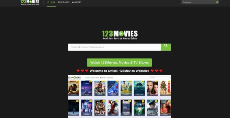 123Movies - Couchtuner alternatives
