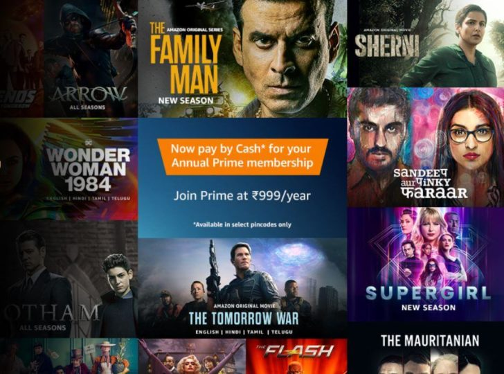 Amazon prime video - Einthusan alternative
