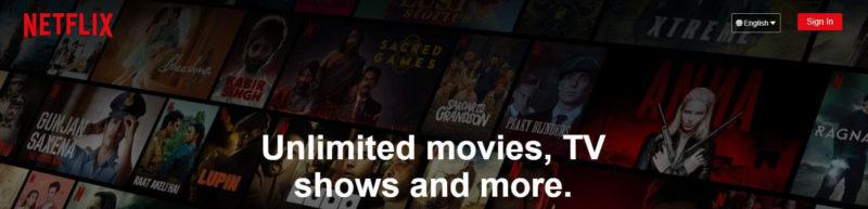 Netflix - Einthusan alternative