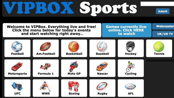 VIP box - Stream2watch alternatives