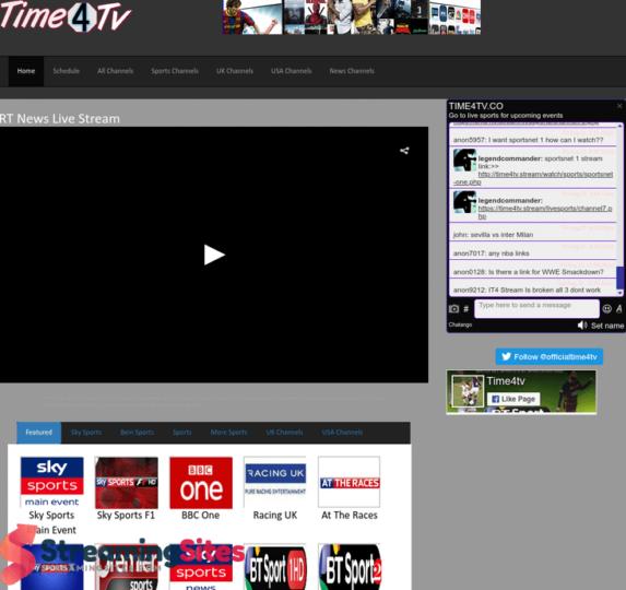 time4tv - Stream2watch alternatives