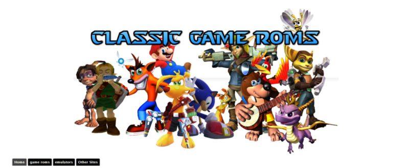 classic game rom
