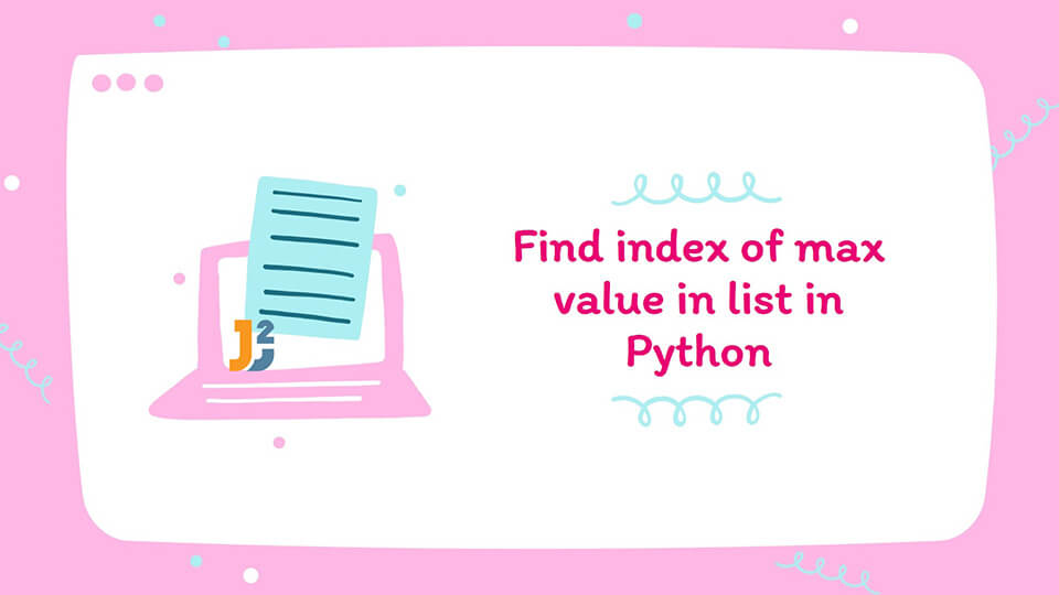 Find index of max value in Python