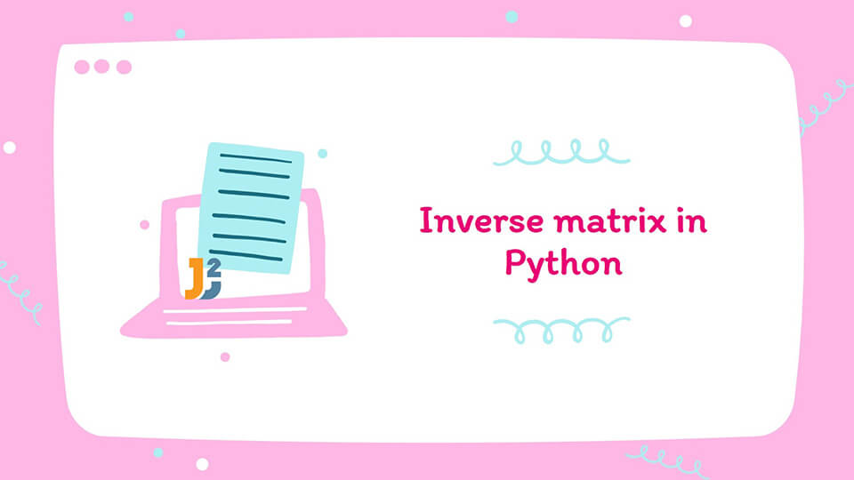 Inverse matrix in Python