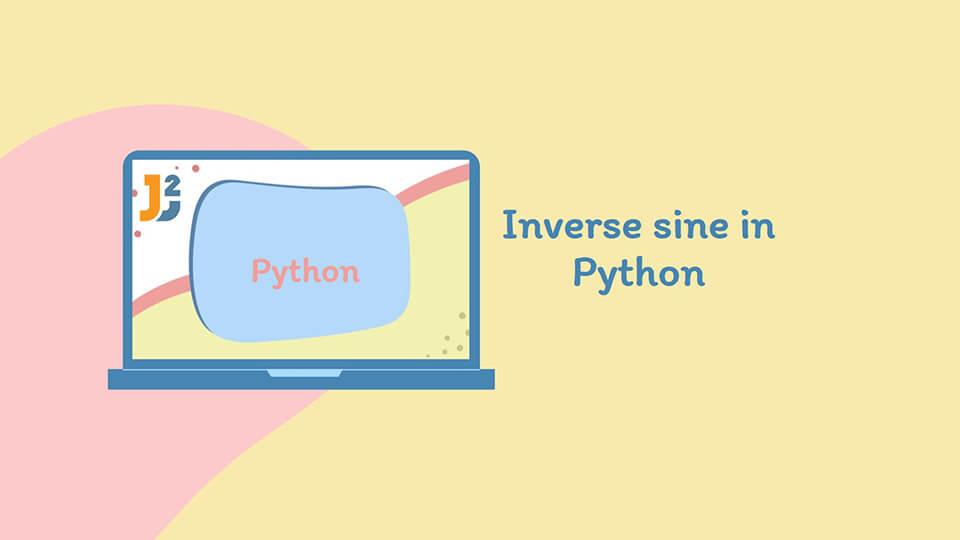 Inverse sine in Python