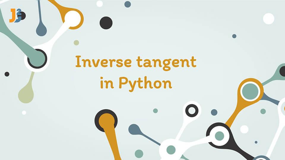 Inverse tangent in Python