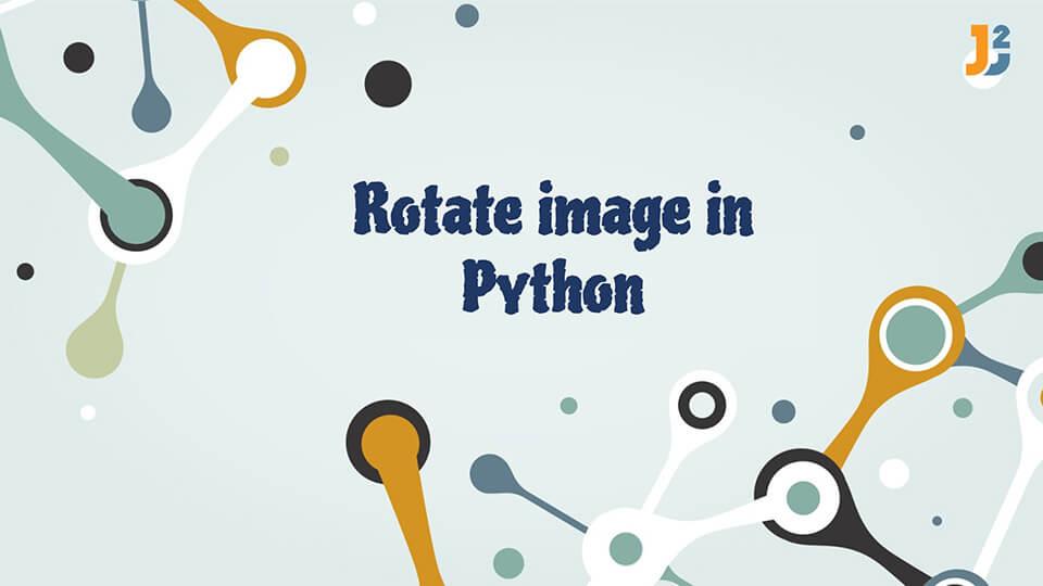 Rotate image Python