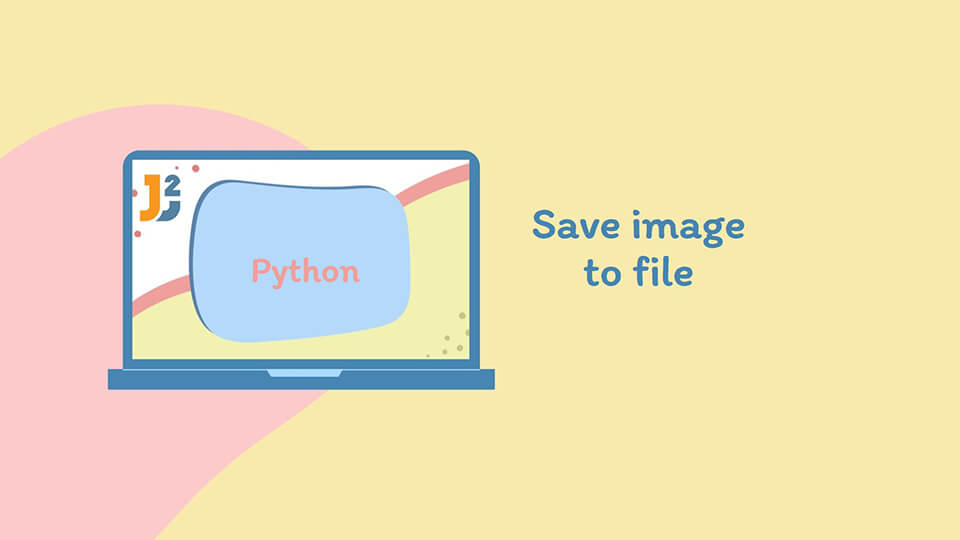 Save image to file in Python