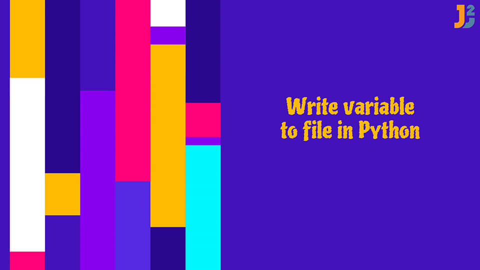 Write variable to file in Python