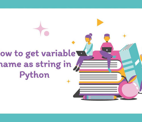 Get variable name as String in Python