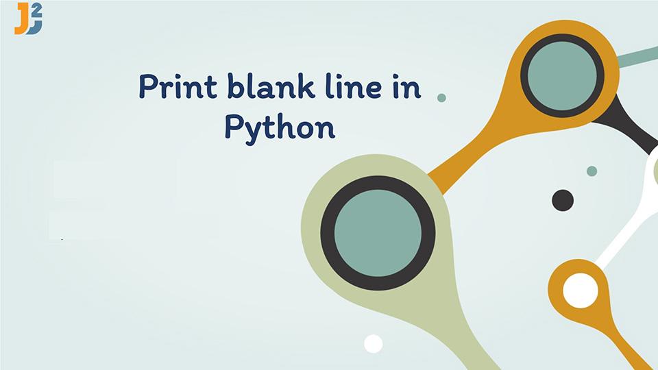 Print blank line in Python