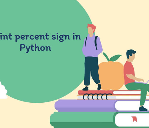 Python print percent sign