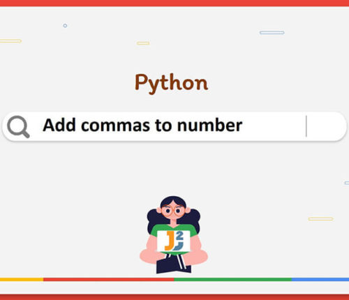 Python add commas to number