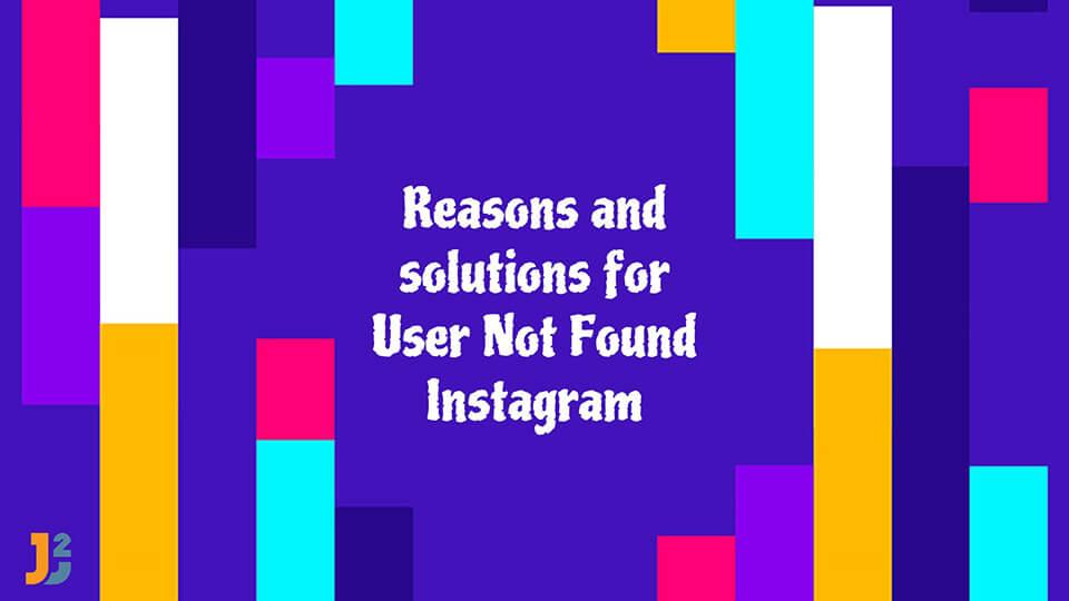 User not found Instagram