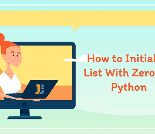 Initialize list with zeros in Python
