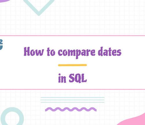 Compare date in SQL