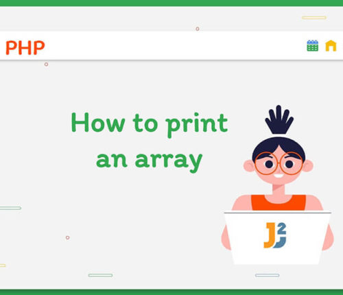 How to print an array in PHP
